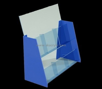 Customize acrylic brochure rack BH-2039