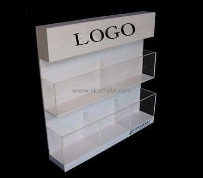 Customize lucite floor brochure holder BH-2040