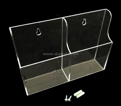 Customize lucite literature holder wall BH-2050