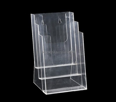 Customize wall three tier brochure holder BH-2072