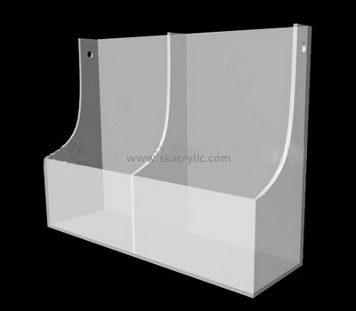 Plexiglass free standing literature holder BH-2079