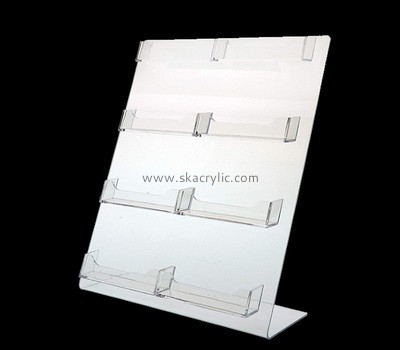 Acrylic multiple business card holders BH-2082