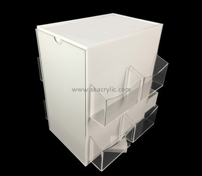 Acrylic box with brochure holder BH-2085