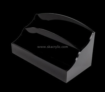 Black desktop literature holder BH-2093