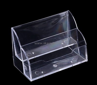 Acrylic unique business card holders for desk BH-2125