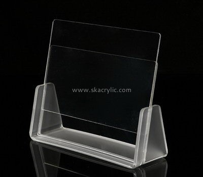 Table top clear acrylic sign holder SH-599