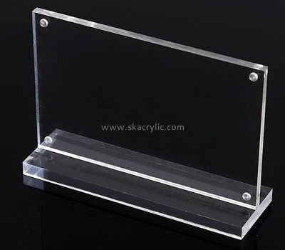 Customize clear acrylic A3 sign holder SH-618