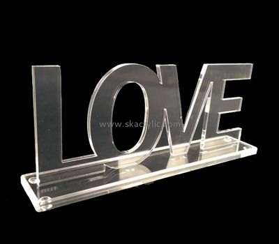 Customize perspex letter sign SH-648