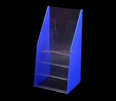 Custom acrylic 4 pockets leaflet holder BH-2139