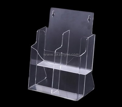 Custom wall clear acrylic pamphlet holders BH-2158