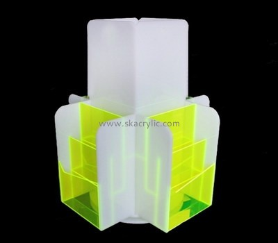 Custom 4 sided acrylic pamphlet holders BH-2162
