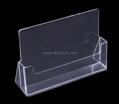 Custom table top acrylic pamplet holder BH-2177