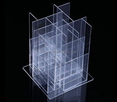 Custom vertical 4 sided acrylic literature holders BH-2189