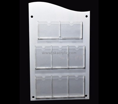 Custom wall 8 pockets pamphlet holders BH-2193