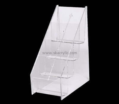 Custom 4 tiers acrylic pamphlet holders BH-2194