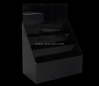 Custom 3 tiers black acrylic literature holders BH-2201