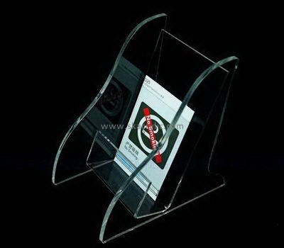 Custom table top clear acrylic pamphlet holder BH-2207