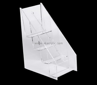 Custom 4 tiered acrylic leaflet holders BH-2226