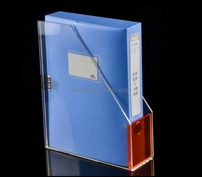 Custom table top acrylic file holder BH-2233