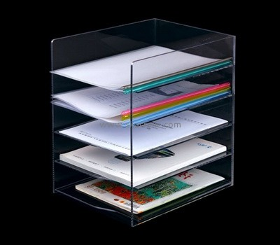 Custom 5 tiers acrylic file holders BH-2249